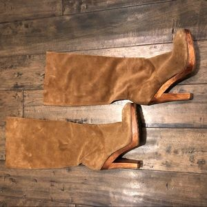 Michael Kors Suede knee high boots